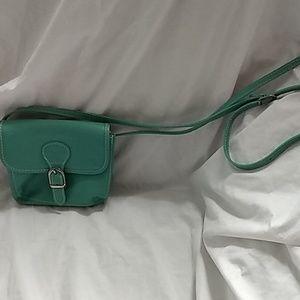 Vera Pelle crossbody purse